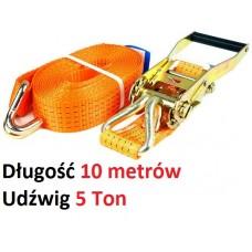 Pas transportowy 10 metrów 5 Ton