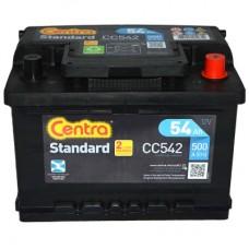Akumulator CENTRA 12V 54Ah 500A