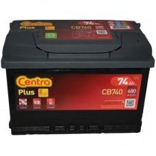 Akumulator Centra 74Ah 680A 12V Plus