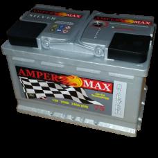 Akumulator AMPER MAX 12V 75Ah 740A Silver