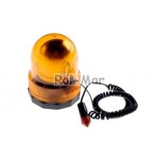 Lampa Ostrzegawcza Błyskowa 12V magnes + żarówka
