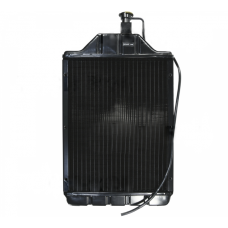 Chłodnica wody 3-rzędowa miedziana, mocowanie boczne do MF-4, MF 261, 265, 275, 285, 565; 1876606M4-T Radiatore