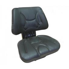 Siedzenie amortyzowane dwuczęściowe czarne do ciągników rolniczych ECO-101 Akkomsan