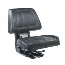 Siedzenie amortyzowane dwuczęściowe czarne do C-330, C-360, MF-3, uniwersalne tj. z regulacją kąta siedzenia 3027406M91, 50671060 Slovax