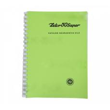Katalog części ZETOR 50 Super; 222212802 Produkt Czeski