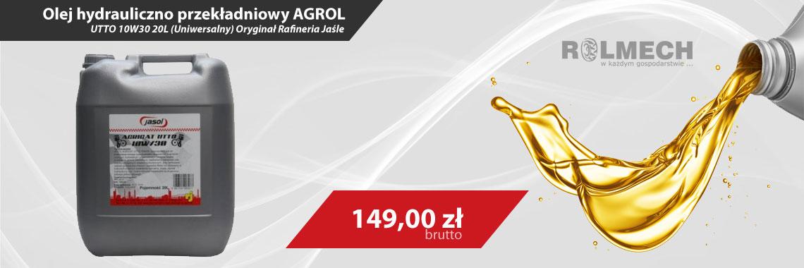 Olej hydrauliczno przekładniowy AGROL