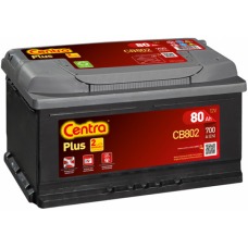 Akumulator CENTRA 12V 80Ah 700A Plus