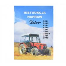 Instrukcja napraw Z5211-7745 zetor 5211-7745 5211-7745 Produkt krajowy
