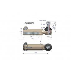 Przegub kierowniczy 148mm- M1 1/8-12 AL39020 WARYŃSKI