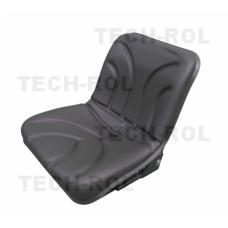 Siedzenie amortyzowane jednoczęściowe czarne do C-330, C-360 UNIWERSALNE