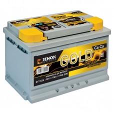 Akumulator JENOX 12V 77Ah 770A GOLD