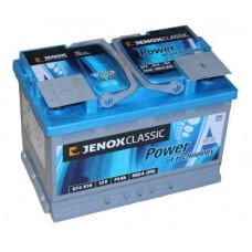 Akumulator JENOX 12V 74Ah 680A Classic