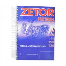 Katalog części ZETOR Forterra 95-135; Modele: 95, 105, 115, 125, 135; 222212563 Zetor Oryginał