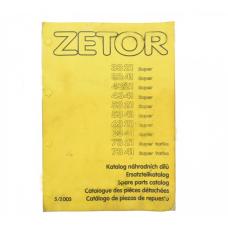 Katalog części Zetor Super 3321-7341; 3321-7341 Zetor Oryginał