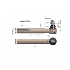 Przegub kierowniczy 271mm- M22x1,5 04388223 WARYŃSKI