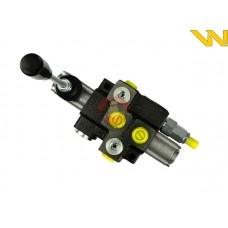 Rozdzielacz hydrauliczny 1-sekcyjny max przepływ 40L Waryński
