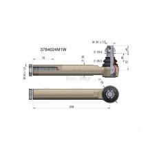 Przegub kierowniczy 258mm- M24x1,5 3764024M1 WARYŃSKI