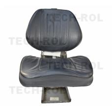 Siedzenie amortyzowane dwuczęściowe czarne do Zetor 72115401, 83343000 Zetor Oryginał